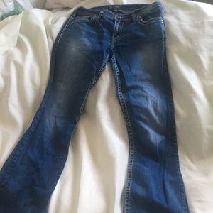 Silver Suki Jeans size 32